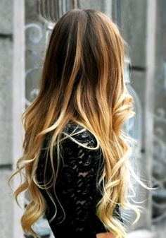 #ombr...i love this doing it to my hair next week