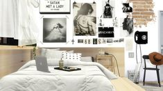 Sims 4 CC's - The Best: Obsessions room posters by viikiita