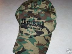 George Dickel Whiskey Camo Hat, new, Ducks Unlimited (11/26/2007)