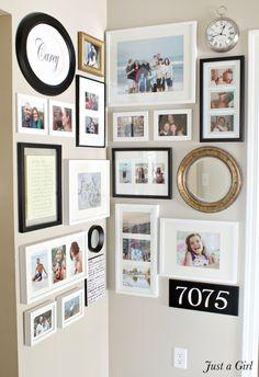 gallery wall tutorial