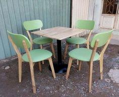 Bộ bàn ghế cafe đẹp Lyn