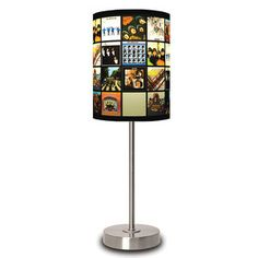 I so wannt this... The Beatles Album Covers Lamp now featured on Fab.