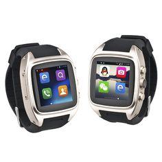 Podoor Z004 MTK6572 1.6-inch Android 4.2 Bluetooth Smart Watch Phone