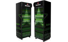 Холодильник, Heineken от рекламного агентства Fishkey