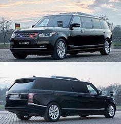 Klassen's Range Rover SVAutobiography Limousine is Bulletproof and Designed to Keep VIPs Safe Corvette Zr1, Chevrolet Corvette, Lego Technic Truck, Moon Buggy, Trailer Build, Luxury Suv, Automotive News, Porsche Design, Toy Trucks