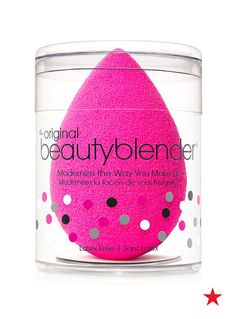 Her favorite beauty tool she can't wait to find under the tree, the amazing beautyblender!