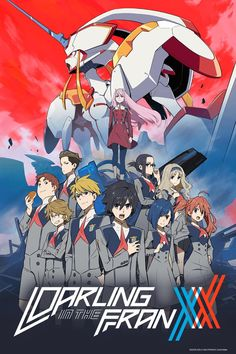 DARLING in the FRANXX anime info and recommendations. Set in the distant future, the land is ruined and . M Anime, Girls Anime, Otaku Anime, Querida No Franxx, Wall Prints, Poster Prints, Posters, Poster Anime, Koro Sensei