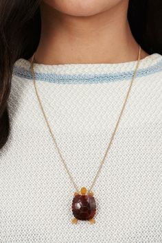 Tatty Devine Tortoise Necklace - Totally adorbs!!! I want!