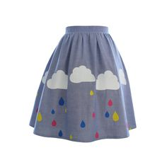 Rainy Day Skirt por TheresOnlyOneAmyLaws en Etsy