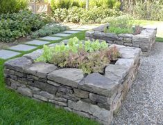 Stone Raised Garden Bed Herb bed could be isolated as pictured or herbs such as lavender and rosemary can be distributed in the design.Herb bed could be isolated as pictured or herbs such as lavender and rosemary can be distributed in the design. Stone Raised Beds, Metal Raised Garden Beds, Raised Garden Bed Plans, Raised Bed Garden Design, Raised Flower Beds, Diy Garden Bed, Building A Raised Garden, Herb Garden, Garden Oasis