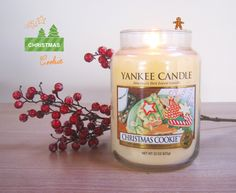 Christmas Cookie candle by Yankee Candle