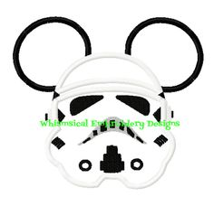 Mickey Storm Trooper Star Wars