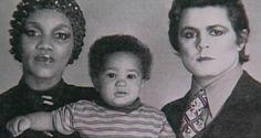 Gorgeouses Gloria Jones, Marc Bolan and Rolan Bolan