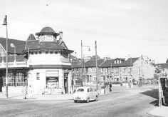 Was a ticket office and kiosk opposite the Victoria Infirmary, Langside/ Battlefield Glasgow, Scotland. Building hasn't changed at all except it's now a fabulous Italian restaurant