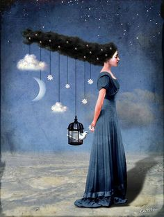 Catrin Welz Stein | Mixed media Illustrations #artpeople