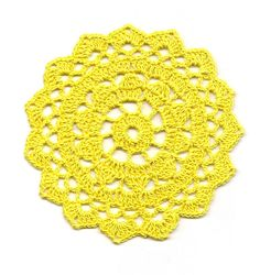 Mini Crochet Doily Lace Doilies Table decoration Crocheted