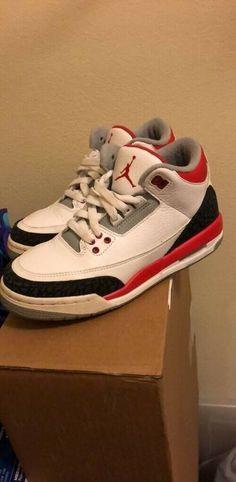 cheap for discount e36b1 8a8ac Jordan 3 Retro Fire Red 2013  fashion  clothing  shoes  accessories   kidsclothingshoesaccs