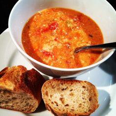 tomato basil parmesan crockpot soup