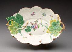 Chelsea Porcelain Manufactory,  English, c. 1745-1784 -  Platter, 1744/50