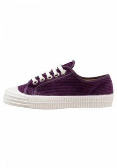 050658a8ce8a2 Novesta. Trainers - purple. Pattern plain. Sole synthetics. Padding type