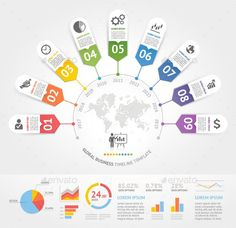 Can be used for workflow layout, banner, diagram, web design. The ZIP files include : - Infographic Powerpoint, Timeline Infographic, Infographics Design, Diagram Design, Web Design, Timeline Design, Dashboard Design, Startup, Editorial Layout