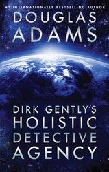 Dirk Gently's Holistic Detective Agency Douglas Adams books - reading