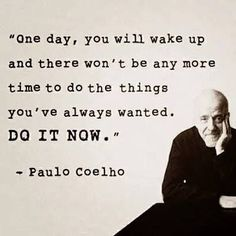 Scary but true // time waits for no one . . #foto #change #selfimprovement #livelovelaugh #instaquote #sayings #motivation #quotes #paulocoelho #wisdom #choices #DoItNow #changeisgood #selfawareness #introspection #timeflies #timeIsRunningOut #oneLife Shop Now for one of a kind handmade clothing. Matching Mommy Me Outfits