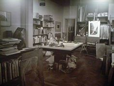 Fayga Ostrower's atelier