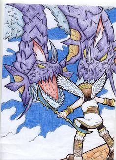 Kid Icarus Uprising By Charlottezxz On DeviantArt