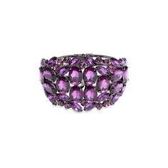 Sequin 'Spring Bangle' Large Stone Cuff ($25) found on Polyvore