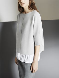 Soft Tailoring - contemporary fashion details; chic minimal style // COS