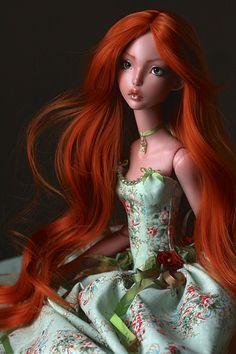 :: Crafty :: Doll :: Lillycat Cerisedolls Ellana   by caracal0407