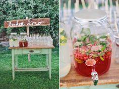 """""""Leckere Limo"""" ♥ Limostand zur #Hochzeit #Getränkebar"""