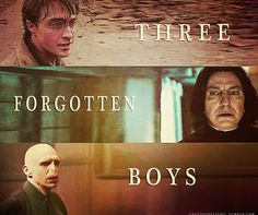 .i really like how J.k. Rowling showed how harry, snape and voldemort all had similiar troubled childhoods. it just goes to show how much our choices can effect our lives.