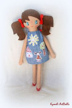 Doll 50cm Soft Dolls, Smurfs, Doll Clothes, Mary, Photo And Video, Handmade, Fictional Characters, Instagram, Hand Made