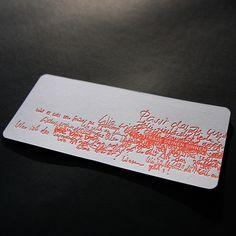 Druckerei Eisenhardt | Letterpress/Buchdruck/Hochdruck/Prägen