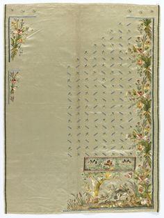 Habit à la disposition, ca. 1785