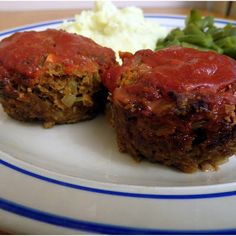 Fall Flavors For 2...   Mini Meatloaf