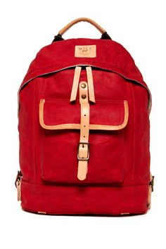 Will Leather Goods | Wax Coated Canvas Dome Backpack | Nordstrom Rack