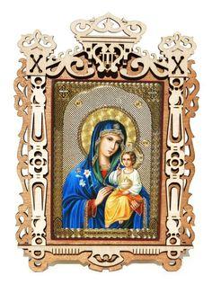 Virgin The Eternal Bloom Medium Orthodox Russian Icon Religious Icons, Religious Gifts, Greek Symbol, Russian Icons, Russian Orthodox, Orthodox Christianity, Orthodox Icons, Nativity, Original Paintings