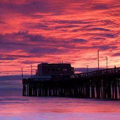 Balboa Pier Newport Beach. CA