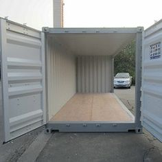 Our line of open side containers provides customers with convenience and versatility, without sacrificing security and safety. Shipping Container Sizes, Retail Space, Festivals, Wolf, Shed, Outdoor Structures, Spaces, Business, Outdoor Decor