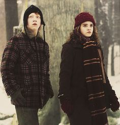 Ron Weasley and Hermione Granger - Harry Potter and The Prisoner of Azkaban