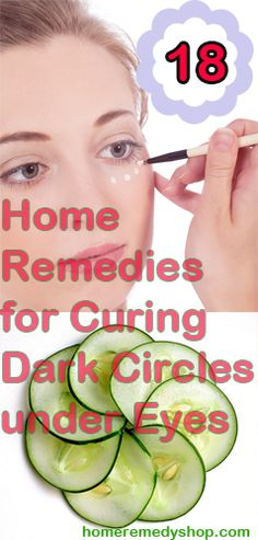 18 Home Remedies for Curing Dark Circles under Eyes