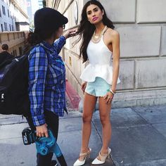 #bts with model Izzy Marshall on the set of our Paris inspired lookbook #agacigirl