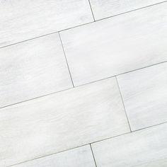porcelain 12x24 tile white wash   Tile look Like Wood   Bianca Wood-Look Porcelain Tile   6.5x40