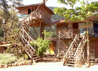 Treehouses with aircon - olympos turkey
