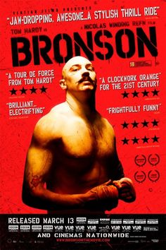 Bronson film poster