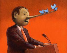 "Pinocchio illustration for ""Visegrad Insight"" - by Paweł Kuczyński"