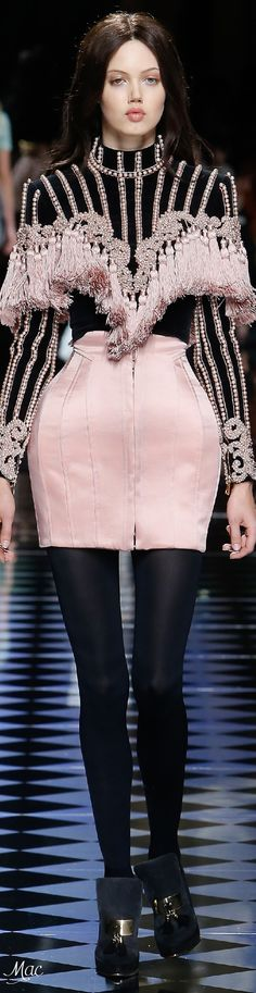Fall 2016 Ready-to-Wear Balmain